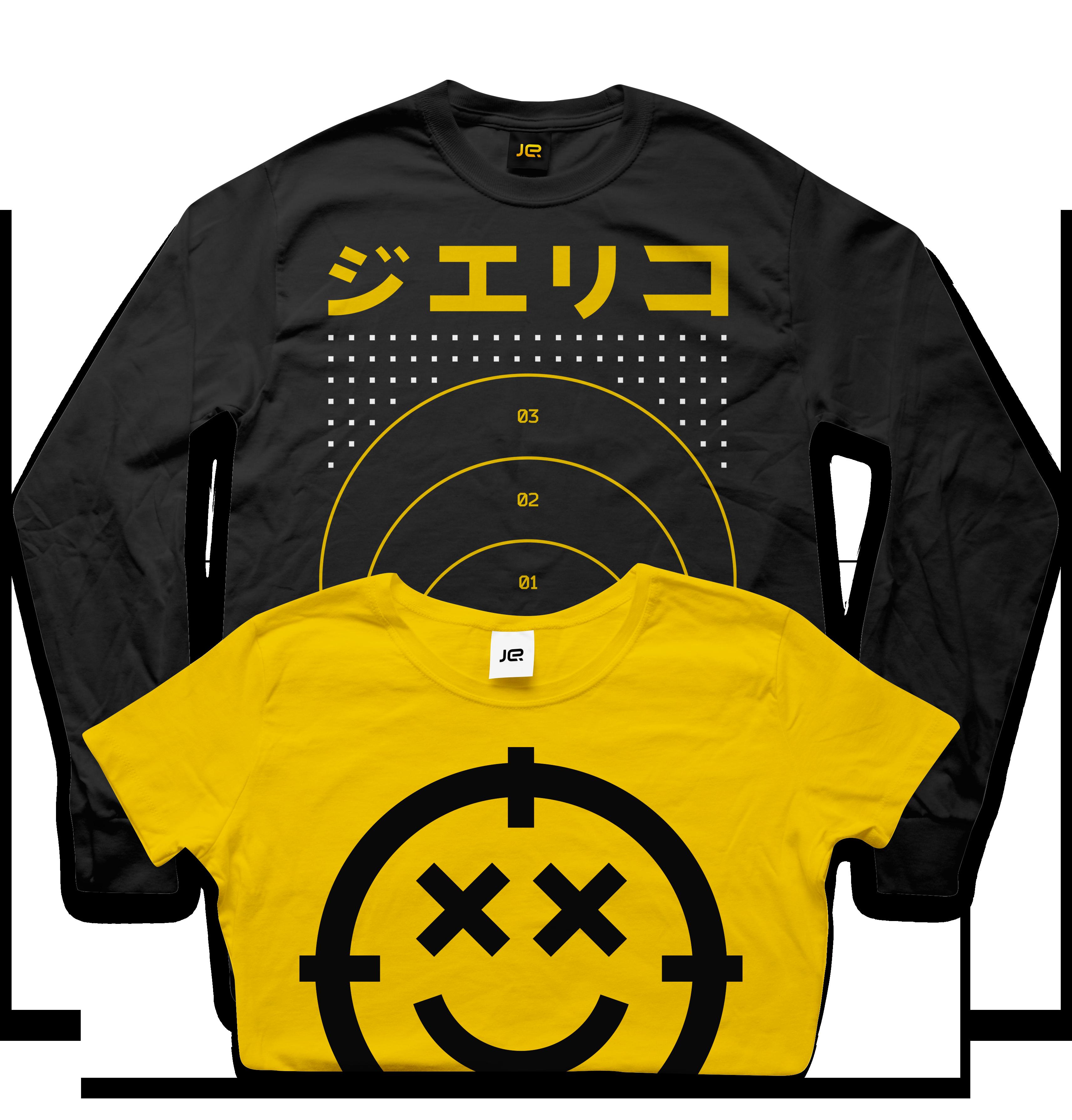 Jericho FUI futuristic user interface tshirt merchandise