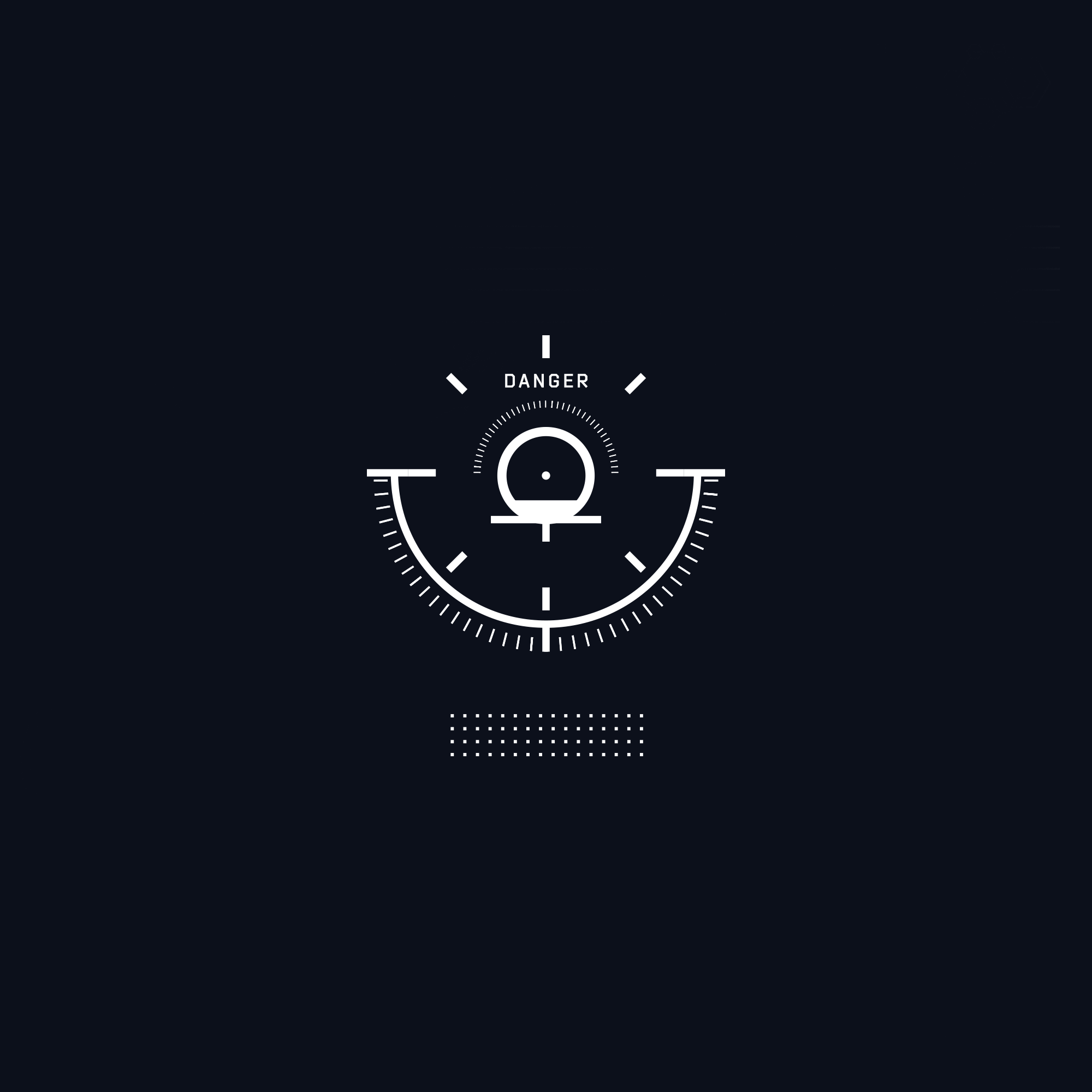 Jericho FUI futuristic user interface