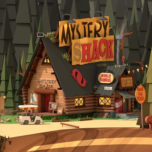 Gravity Falls Short Film Cinema4D