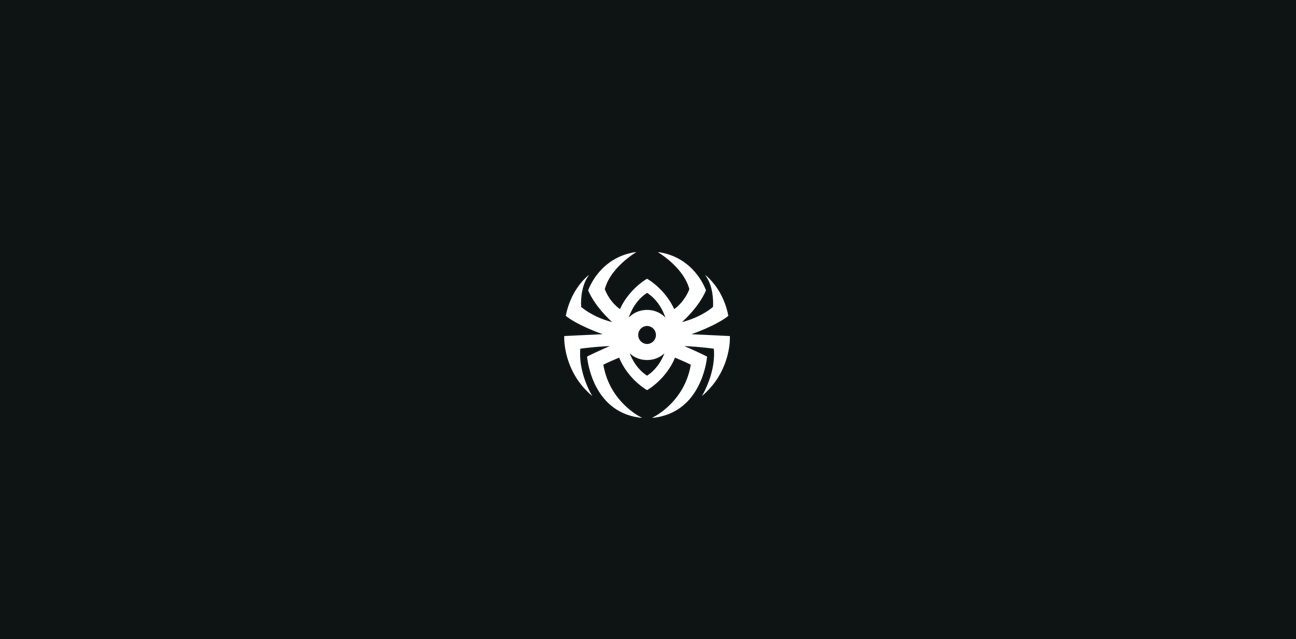 spyder logocore black and white spider logo
