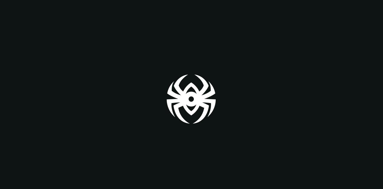 spyder logocore black and white spider logo