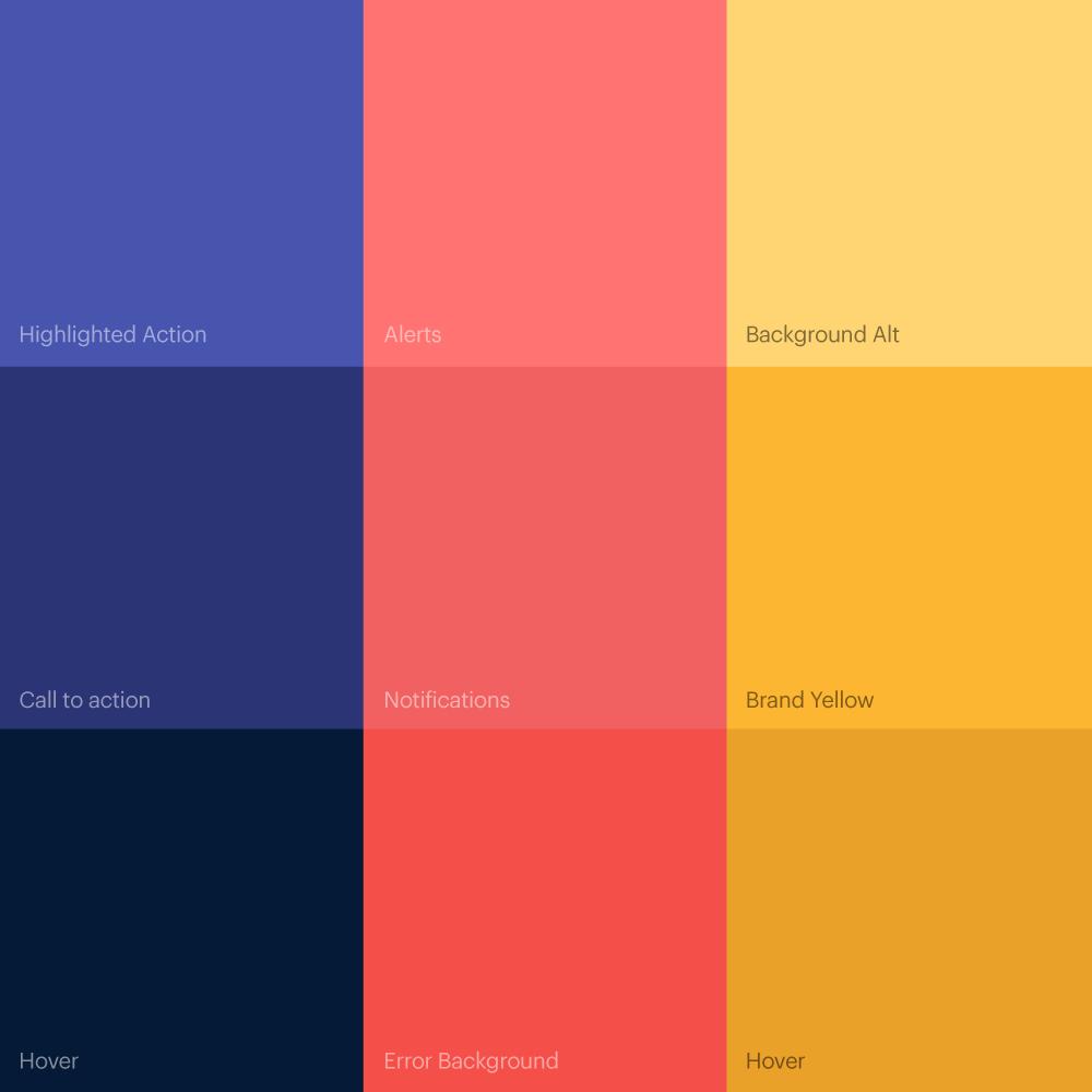 Viaglamour Color Palette Logocore