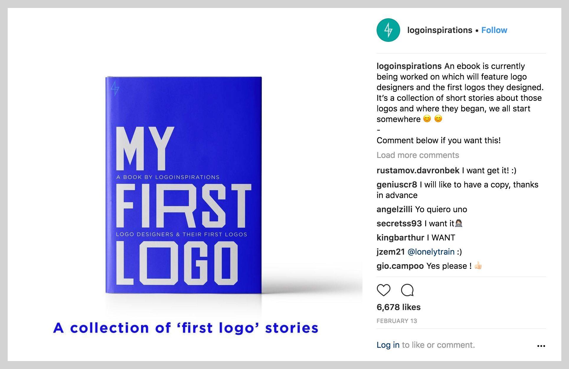 My First Logo Ebook LogoInspirations