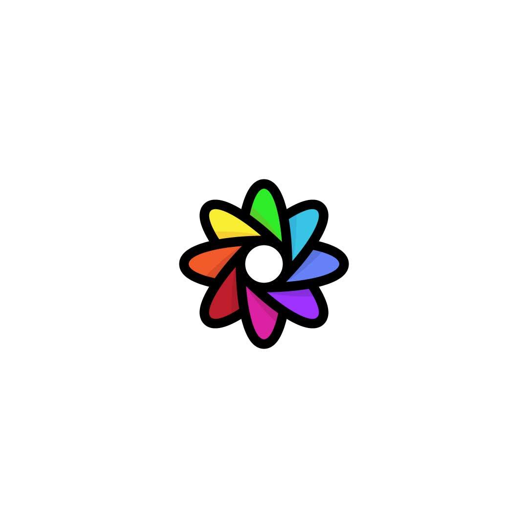 Flower-Circle-Premade-LogoCore-Logo-@YesqArts