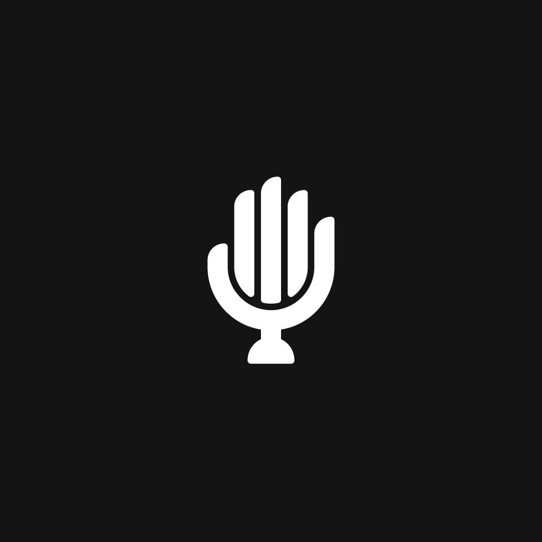 Hand-Mic-Premade-LogoCore-Logo-@YesqArts