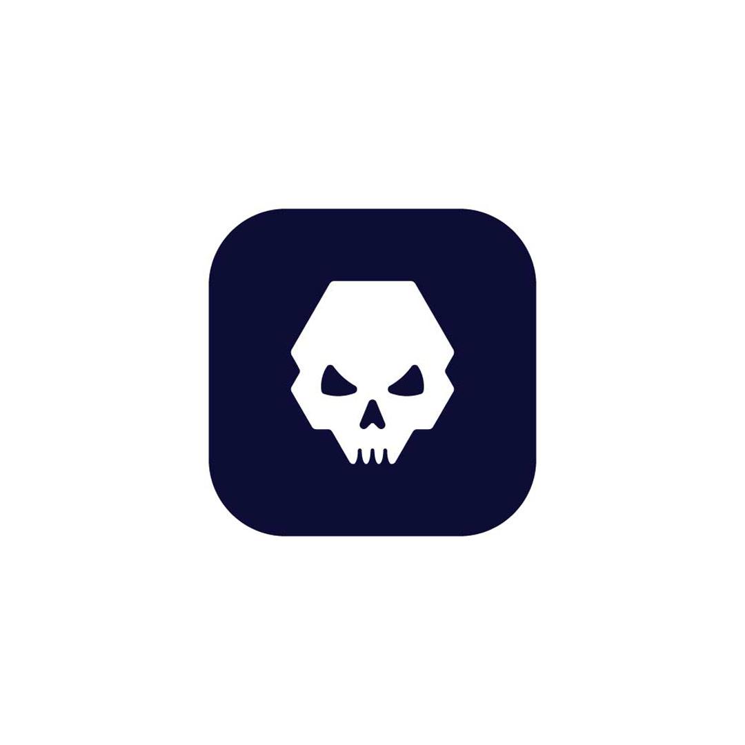 Skull-Premade-LogoCore-Logo-@YesqArts