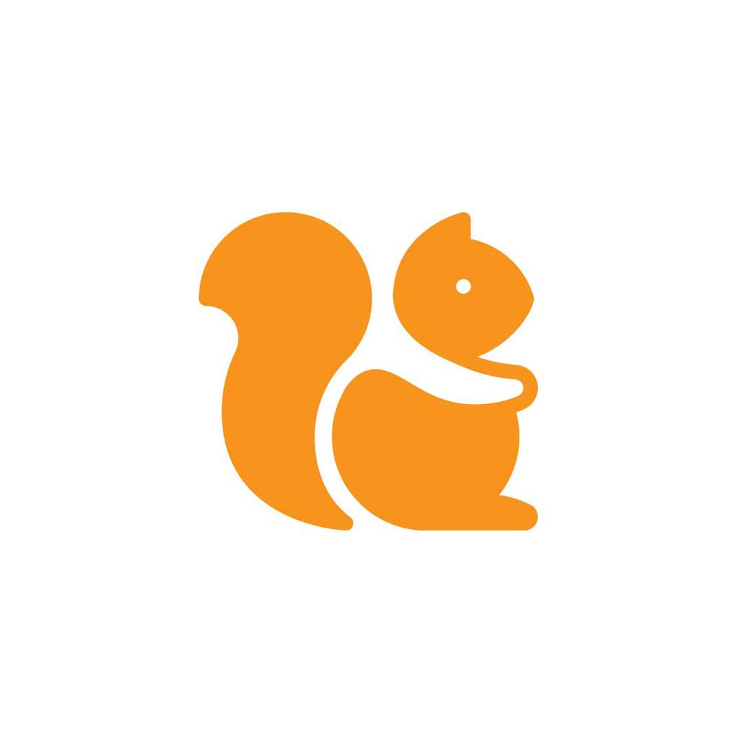 Squirrel-Premade-LogoCore-Logo-@YesqArts