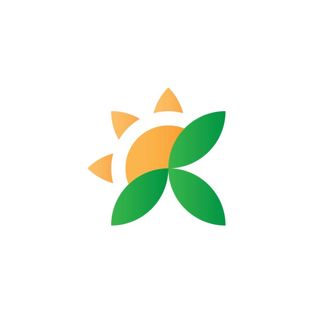 Sun-Leaves-Premade-LogoCore-Logo-@YesqArts