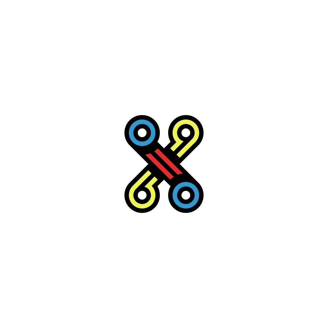 X-5-Premade-LogoCore-Logo-@YesqArts