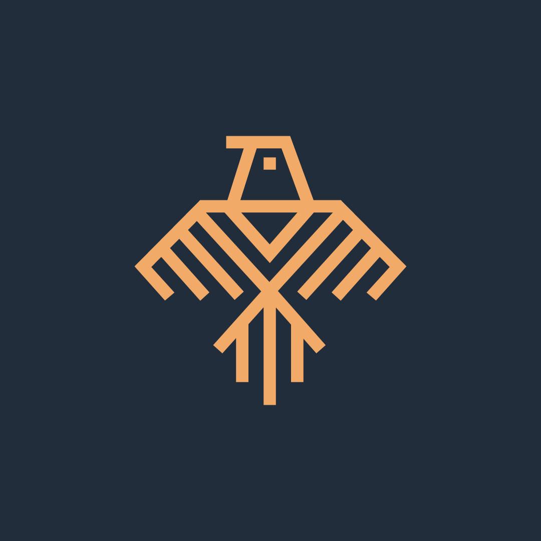 Bird-Premade-LogoCore-Logo-@blesscreates